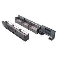Программируемый зарядно-разрядный комплекс для заряда автомобильных аккумуляторов КРОН-ПЗРК-36А