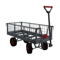 Тележка с бортами для перевозки грузов КРОН-ТПБ-350