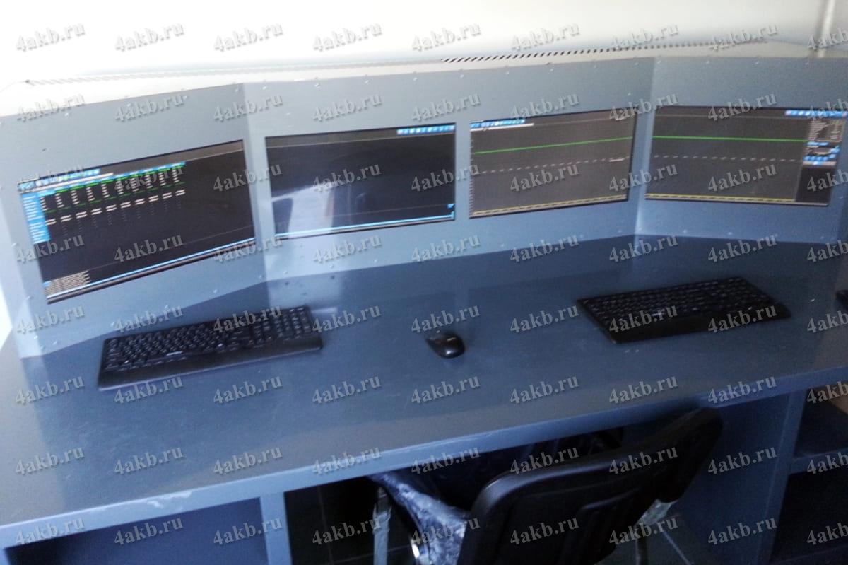 Пульт управления зарядно-разрядными модулями