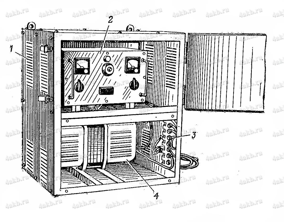 Зарядный шкаф