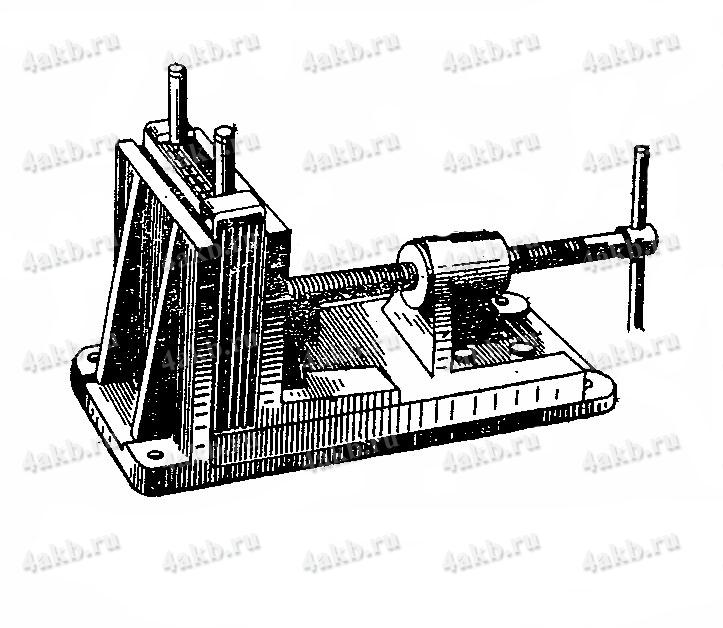 Тиски для опрессовки блока электродов