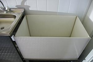 Полипропиленовая ванна для слива электролита