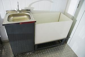 Мойка для мытья рук из нержавеющей стали