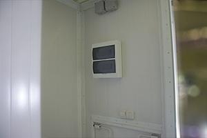 Распределительный щиток для управления электричеством внутри мастерской