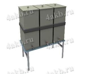 Винипластовые емкости для кислот и электролита