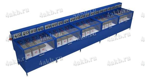 Шкаф зарядный со встроенным зарядно-разрядным устройством на 20 АБ Светоч-04-20 – Вид № 2