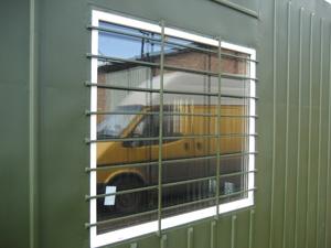 Окна металлопластиковые с решетками