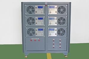 Металлический шкаф автоматизированного зарядно-разрядного комплекса