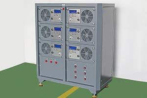 Общий вид шкафа зарядно разрядного серии АЗРК-6 фотография