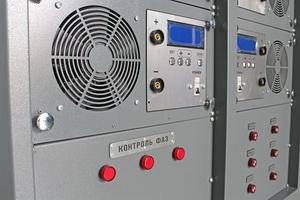 Фото кнопок для управления комплексом для заряда АКБ