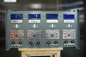 Панель управления зарядным выпрямителем серии ВЗА-30-36-4