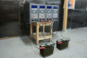 Подключение аккумуляторов к зарядному выпрямителю ВЗА-30-36-4
