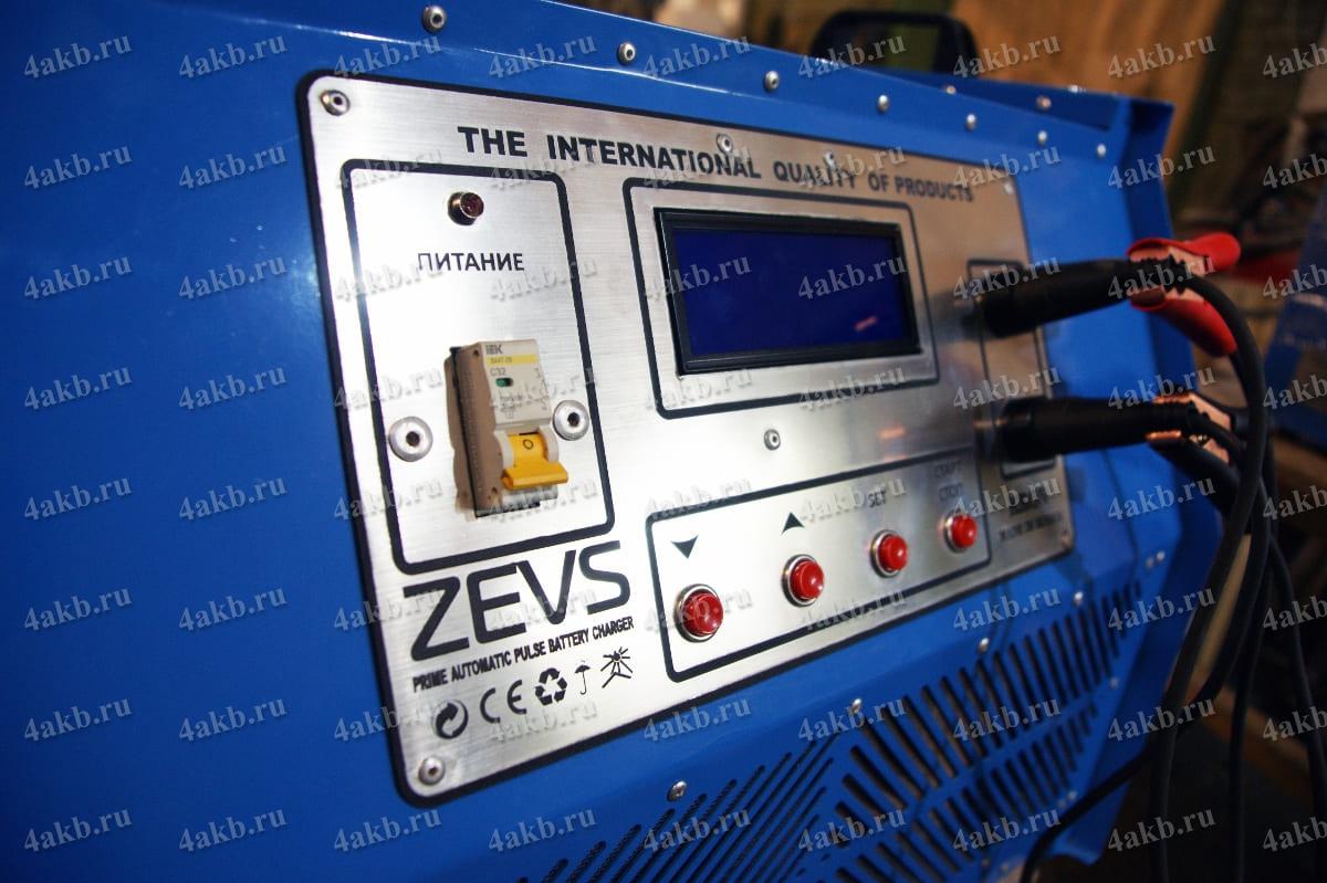 Приборная панель зарядного устройства Зевс