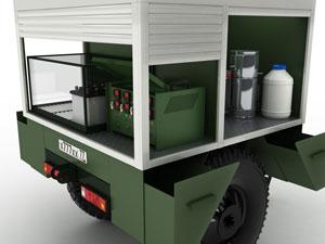 Оборудование ПУЗЭ: шкаф зарядный для АКБ, КЗО, дистиллятор, водосборник, канистры
