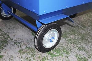 Фото комплекта колес установленных УВВГ-ПРО