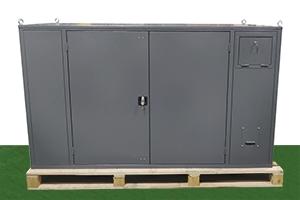 Общий вид компрессорной установки из металла ПКУ-150