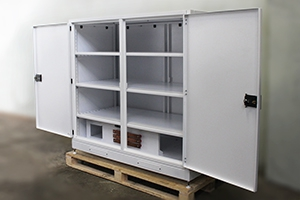 фото батарейного шкафа для ИБП КРОН-ШМА-03 вид 3