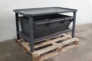 фото стола для слива электролита УКС.ССА-007 вид №1
