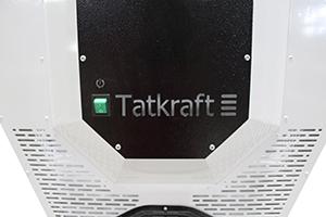 Металлические вентиляционные решетки установленные в Tatkraft