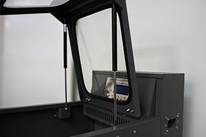 Фото панели управления зарядом шкафа серии Светоч-04