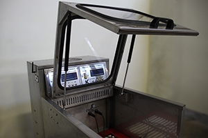 Фото защитной крышки  шкафа Светоч-Авиа-02.ЖК.Н