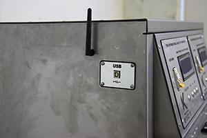 фото usb-разъема и антены для подключения через wi-fi шкафа Светоч-Авиа-02.ЖК.Н
