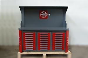 фото стола для ремонта акб КРОН-СДР-999 вид спереди