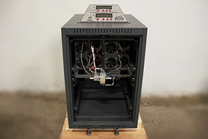 фото зарядного выпрямителя ВЗА-Р-2-100А-40В-30А вид спереди