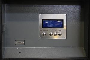 Фото панели управления ЗУ-РЭ-150А-240В