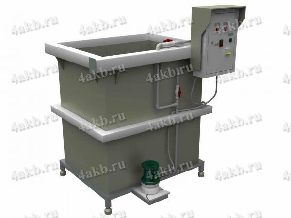 комплекс оборудования для участка приготовления щелочного электролита