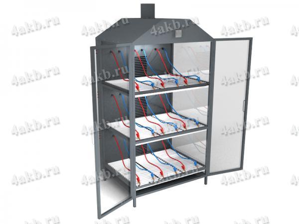 Шкафы для зарядки АКБ 3х-ярусные серии СВЕТОЧ-03