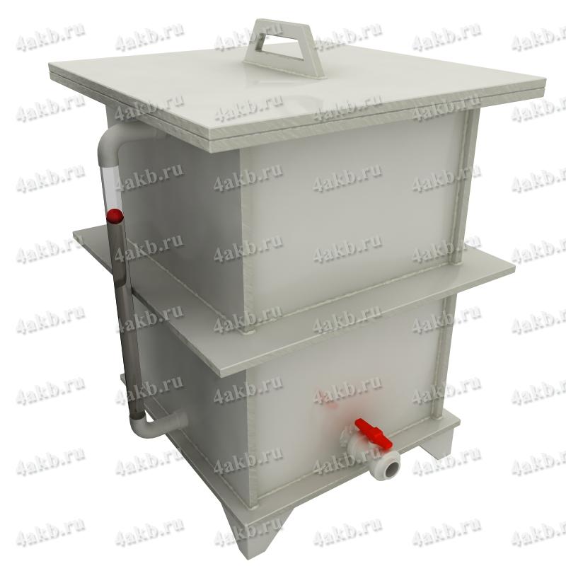 Емкости полипропиленовые для хранения электролита, дистиллированной воды, кислоты