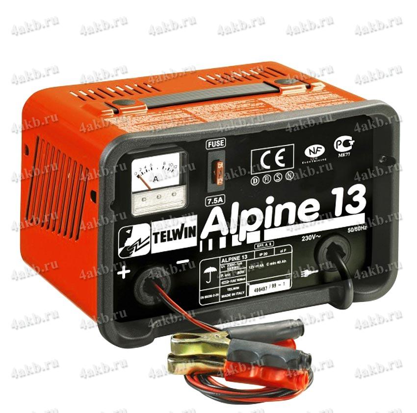 Telwin Alpine 13 зарядное устройство