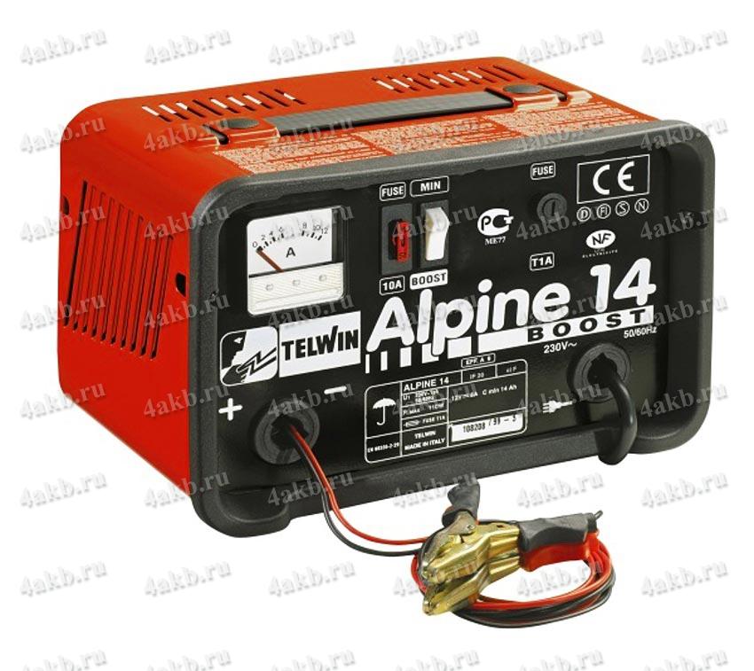 Telwin Alpine 14 зарядное устройство