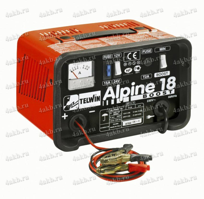 Telwin Alpine 18 зарядное устройство