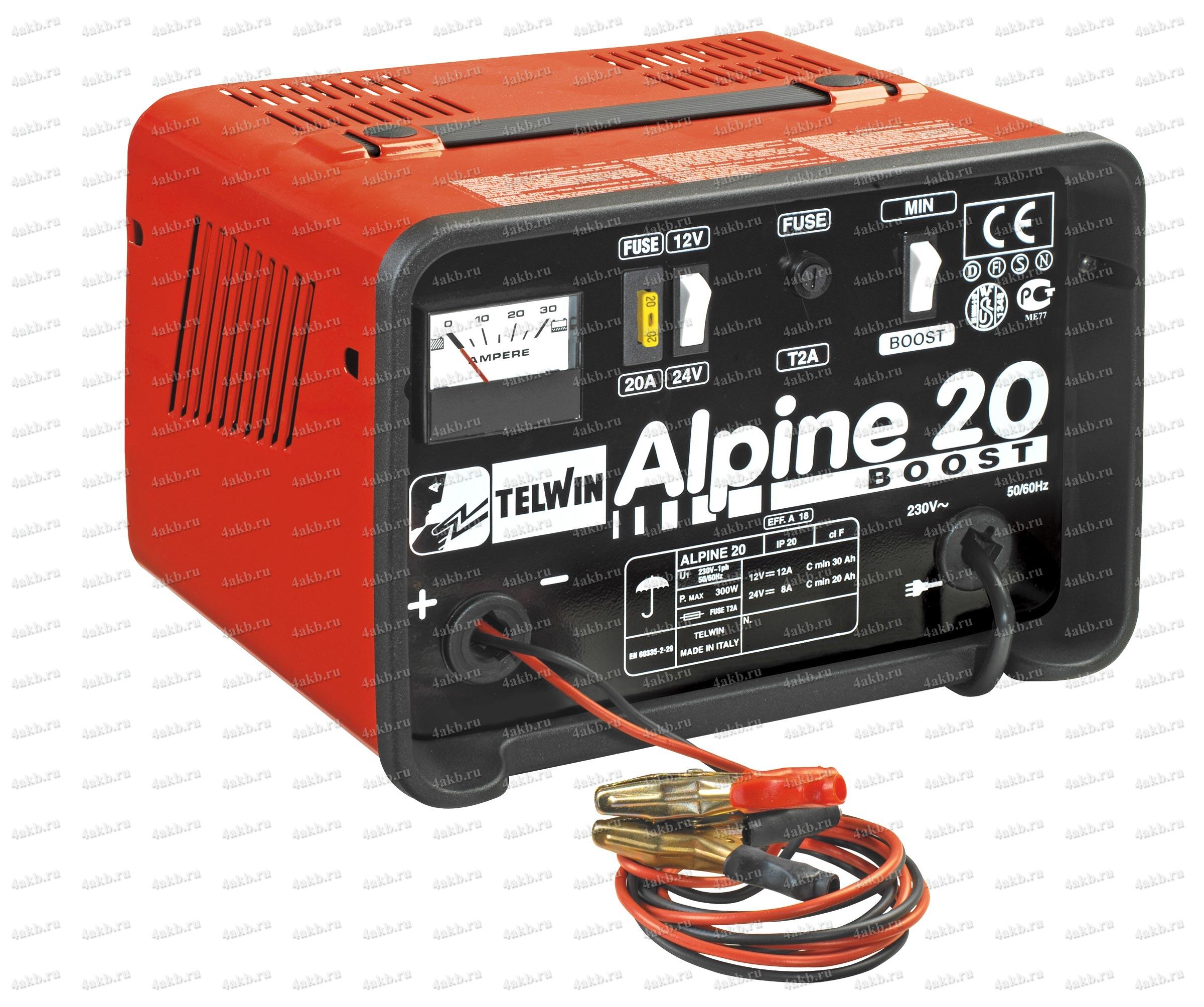 Telwin Alpine 20 зарядное устройство