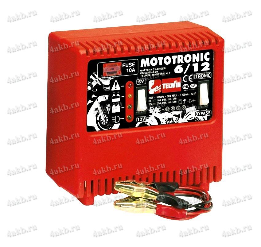 Telwin Mototronic 6/12 зарядное устройство