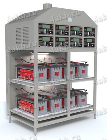 Шкаф для заряда АКБ со встроенным ЗРУ