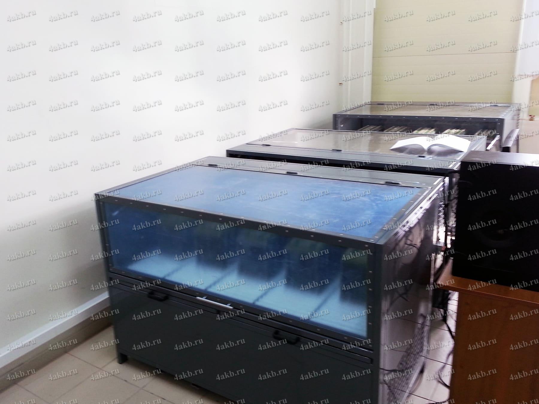 Зарядно-разрядный десульфатирующий шкаф для авиационных АКБ без ЖК