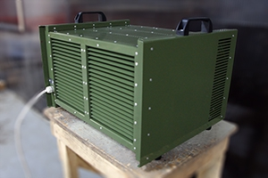 Однофазный зарядный комплект серии КЗО-Р вид сзади