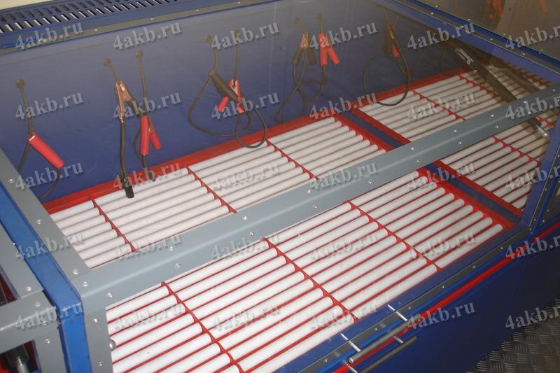 Аккумуляторная мастерская: зарядный шкаф серии светоч