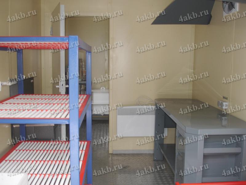 Мобильная аккумуляторная мастерская производства компании KRONVUZ