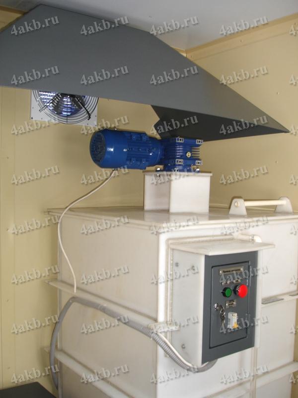 Мобильная аккумуляторная мастерская: установка для слива электролита