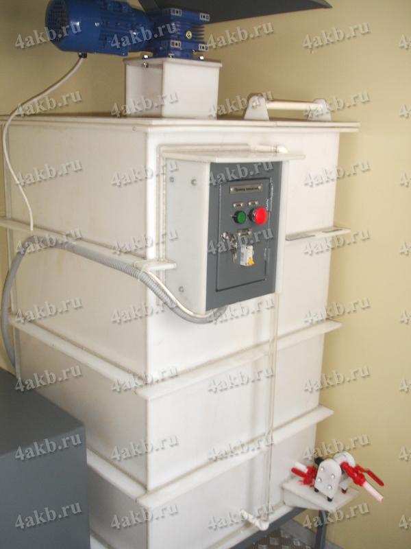 Мобильная аккумуляторная мастерская производства компании ООО РМЗ