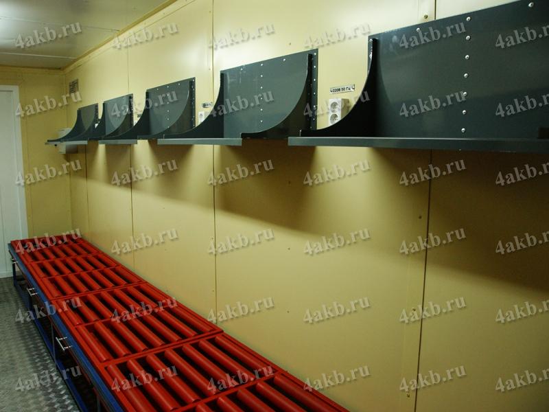 Аккумуляторная мастерская полки для зарядных устройств