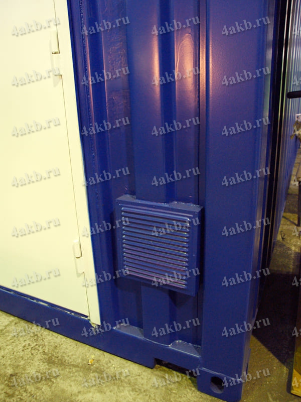 Мобильная аккумуляторная мастерская: система вентиляции