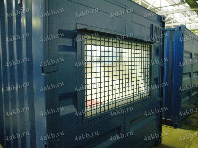 Мобильная аккумуляторная мастерская: внешний вид сзади фото 2