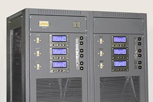 Панель управления многоканального зарядного выпрямителя серии ВЗА