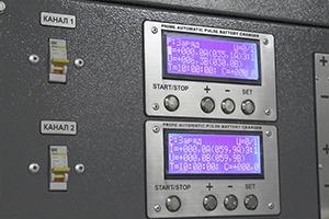 Фотография ЖК экранов и управление подключением каналов