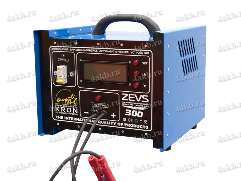 Автоматическое зарядно-разрядное десульфатирующее устройство ZEVS-300